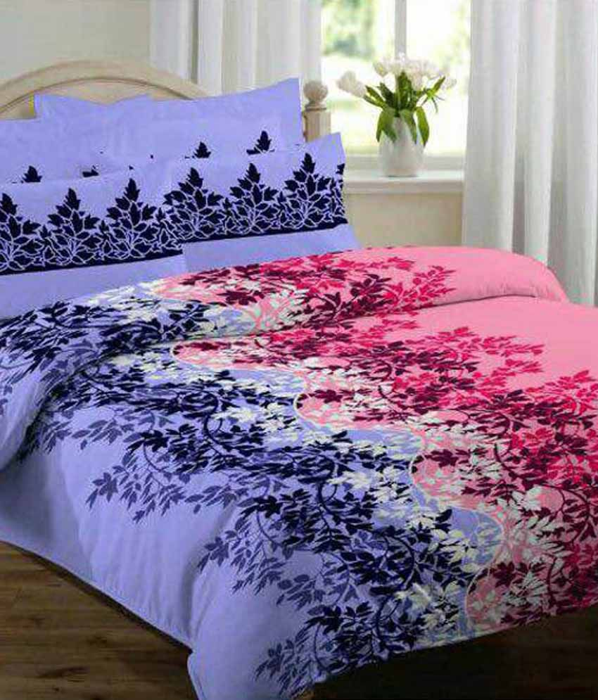 Glace Cotton Bed Sheets
