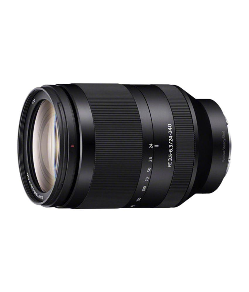 Sony FE 24-240mm F3.5-6.3 OSS Zoom Lens