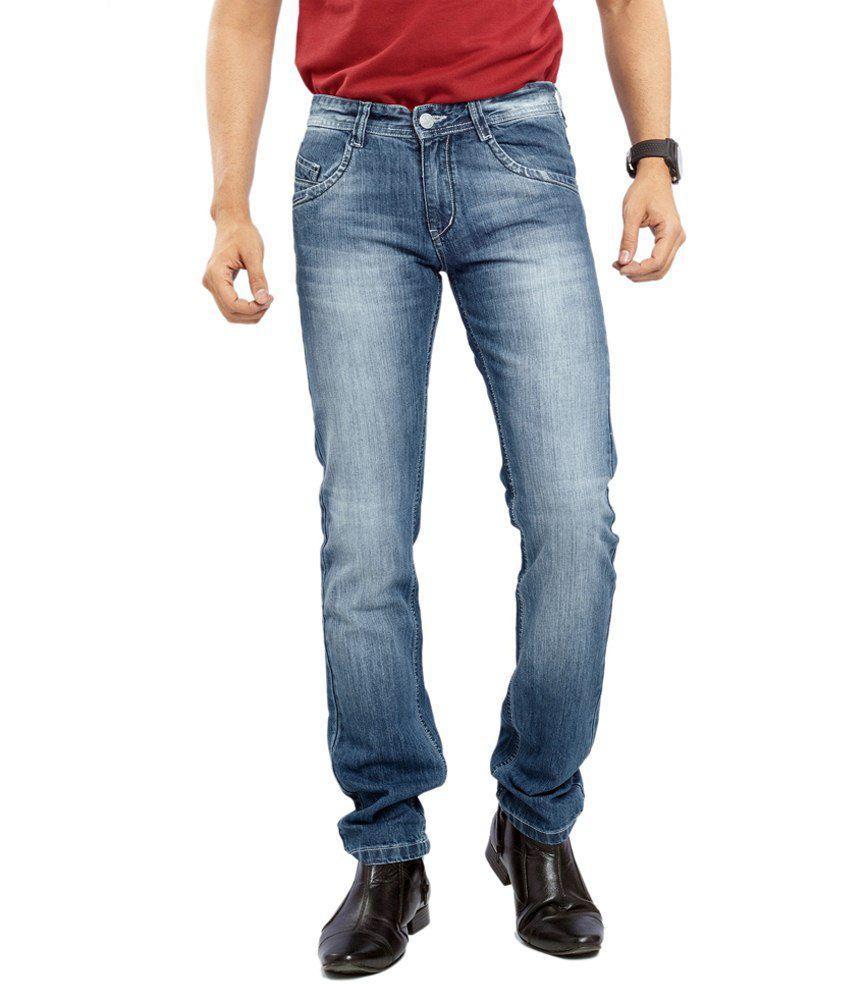 Concord Blue Cotton Jeans