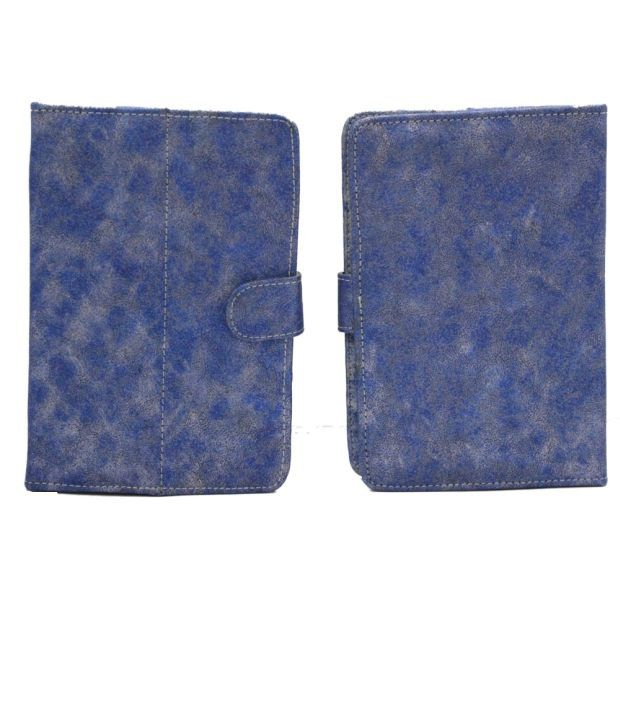 Jo Jo Metal YB Flip Flap Case Cover Pouch Carry For Plum Debut Blue