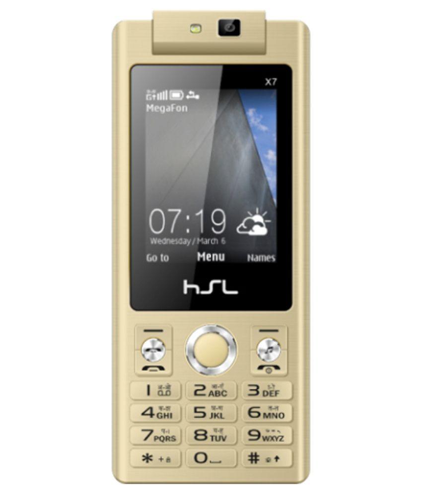 HSL X7 -Golden