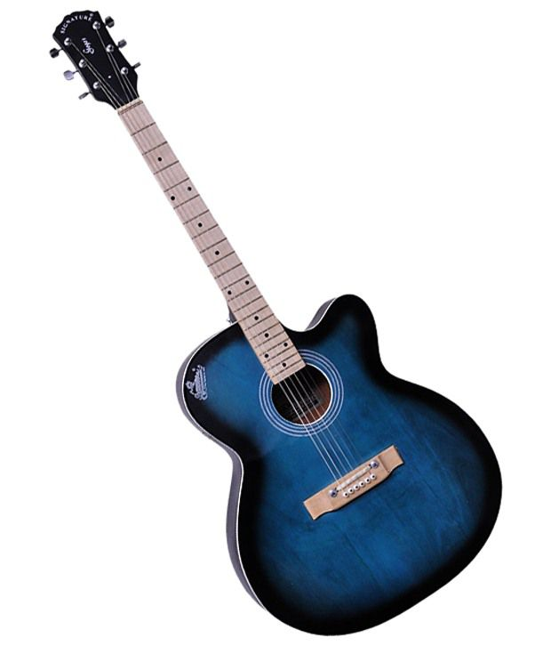 signature blue g 150 acoustic guitar with free plectrum bag available at snapdeal for. Black Bedroom Furniture Sets. Home Design Ideas