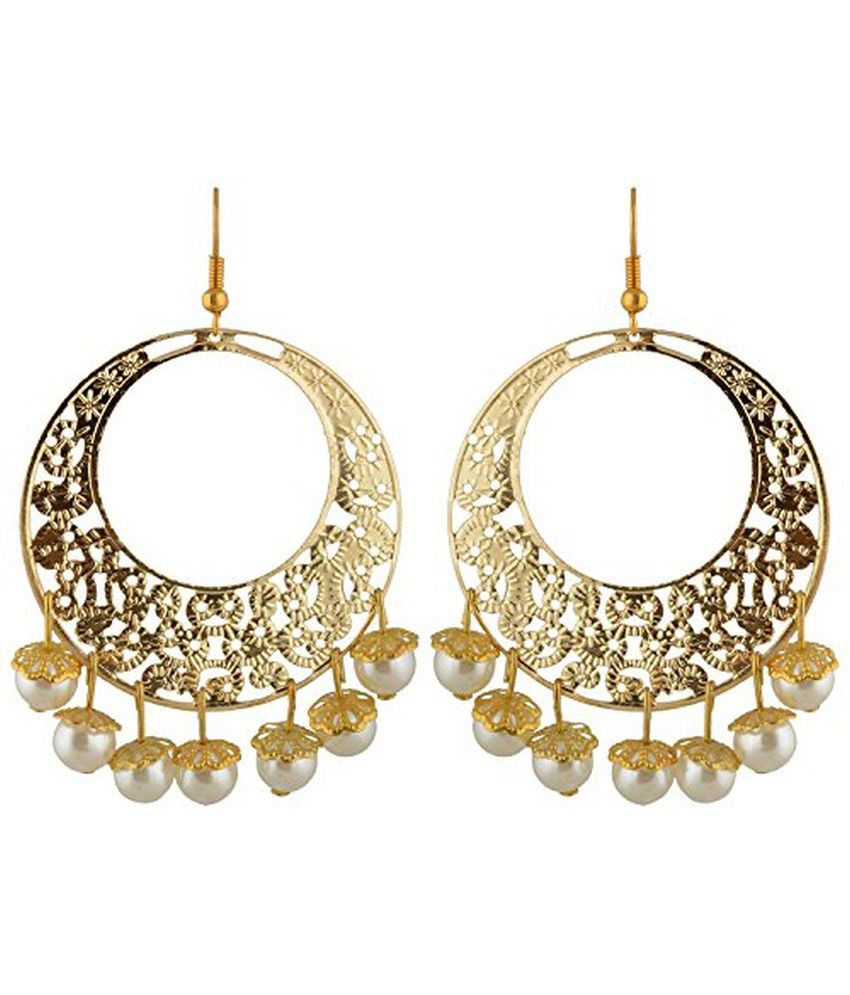 Trinkets And Treasures White Style Diva Drop Earrings