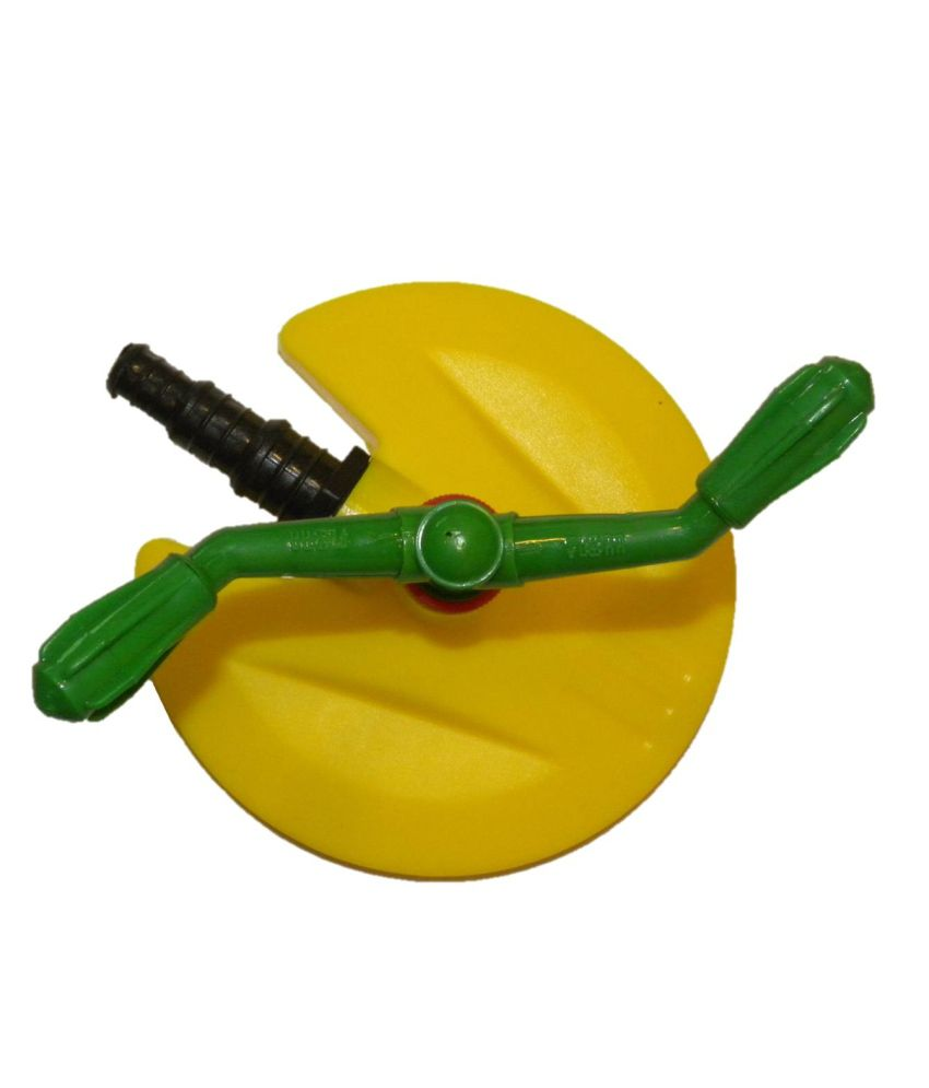 Green octane two arm sprinkler garden tool buy green for Gardening tools online in india