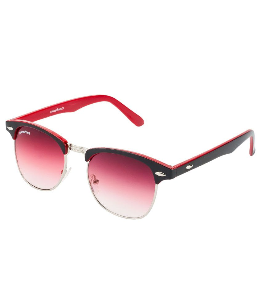 4f5ca2e762f3 O Positive black red with red lens club master sunglass for men & women - Buy  O Positive black red with red lens club master sunglass for men & women  Online ...