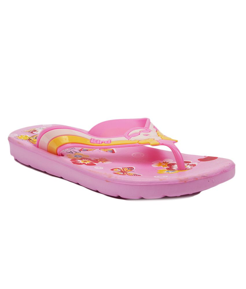 Aalishan Pink Eva Flat Slippers