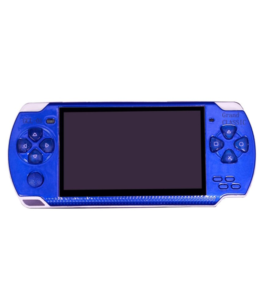 Classic World of Entertainment 4GB PSP with 3D Game Digital Player - Blue