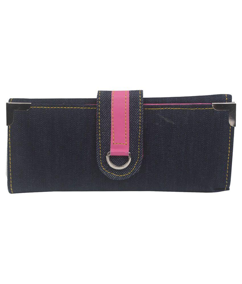 Hangover Blue Fashionable Wallet