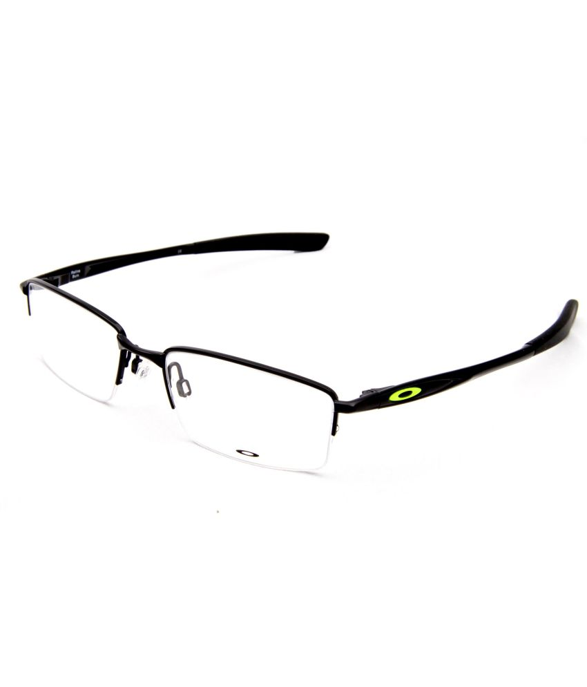 oakley eyeglasses men  Oakley Rectangle Half Rim Men Eyeglasses - Buy Oakley Rectangle ...