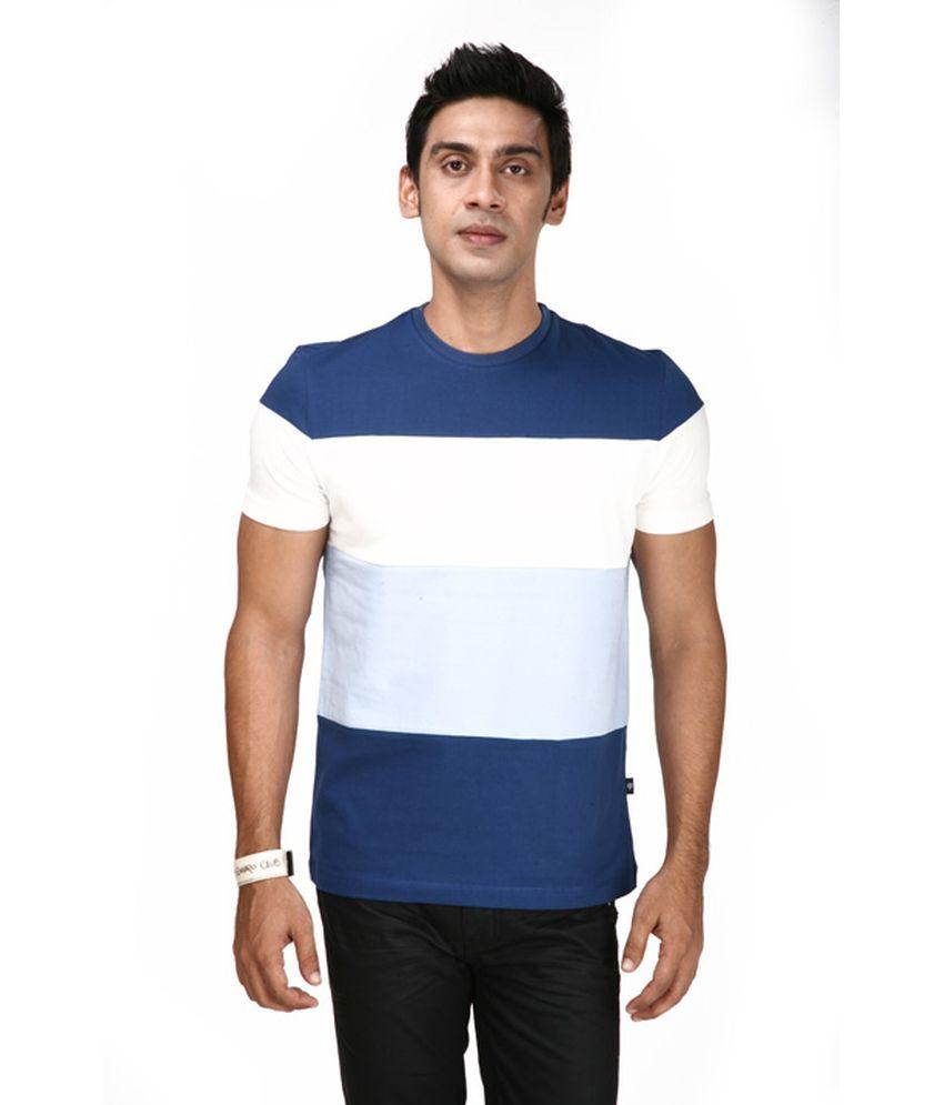 Uni Style Image Multicolour Cotton Half Sleeve Round Neck T-Shirt