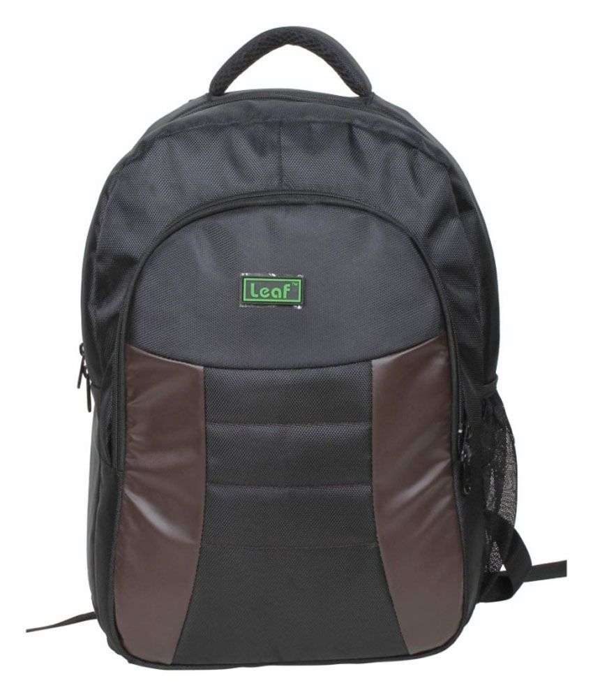 Leaf Black Laptop Compatibility Bag