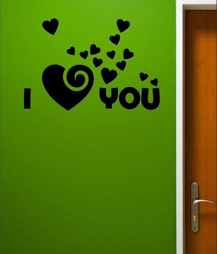 wall1ders i love u black wall sticker buy wall1ders i 17 best images about butterfly wall decals on pinterest