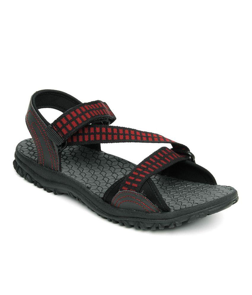 c8e73b59449d Reebok Black Floater Sandals - Buy Reebok Black Floater Sandals Online at  Best Prices in India on Snapdeal