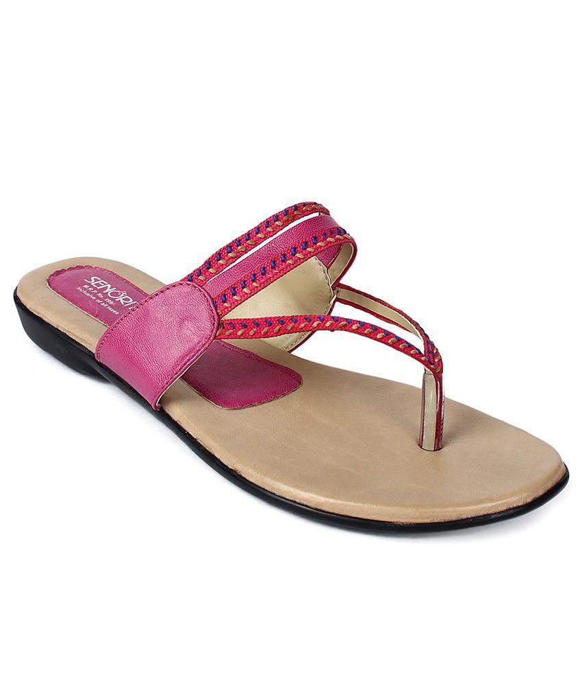 Senorita Pink Slippers