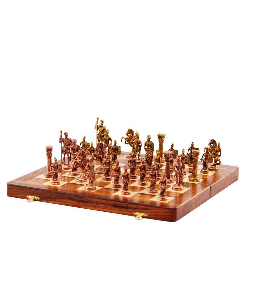 Ark Creation Brown Brass Roman Folding Chess Box Platform  : Ark Creation Brown Brass Roman SDL147113934 1 39400 from compare.buyhatke.com size 850 x 995 jpeg 63kB