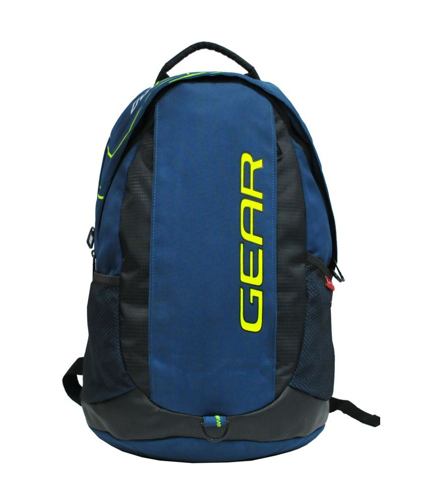 8c29a1d3ae Gear Outlander Blue And Black Backpack Blue and Black Backpack - Buy Gear  Outlander Blue And Black Backpack Blue and Black Backpack Online at Best  Prices in ...