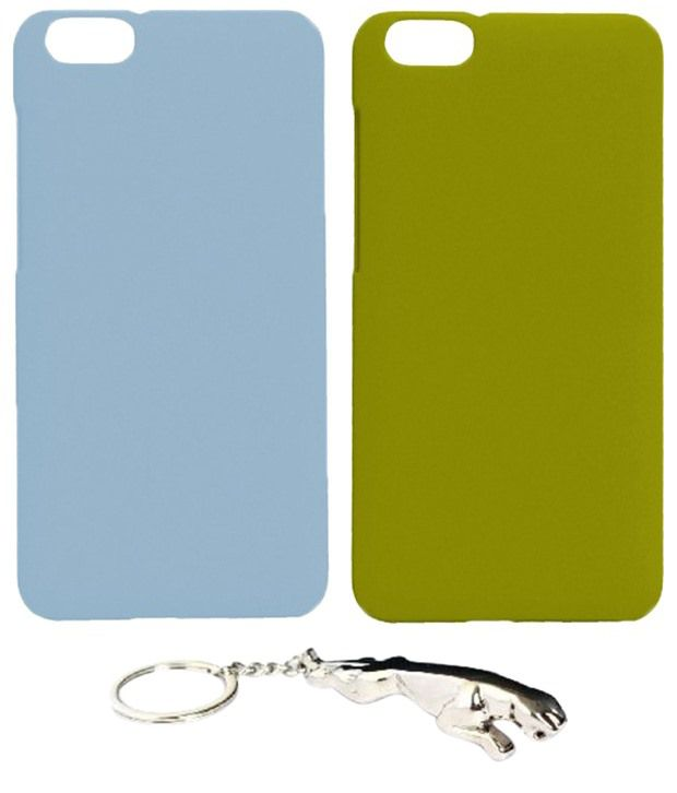 Winsome Deal Astonishing Multicolour Combo of Keychain & 2 Huawei Honor 4X Back Covers