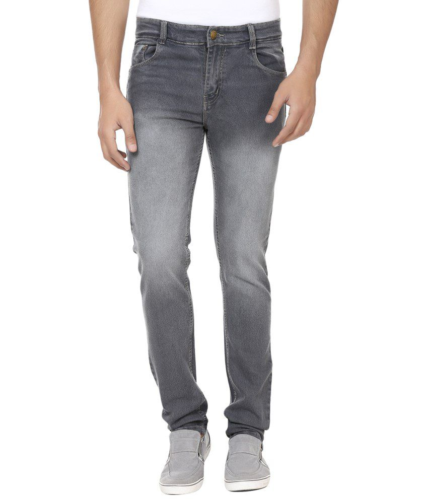 Forever19 Gray Cotton Jeans