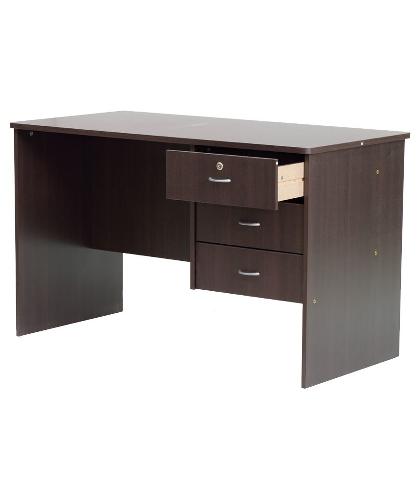 furn aspire study table with 3 drawers buy furn aspire study