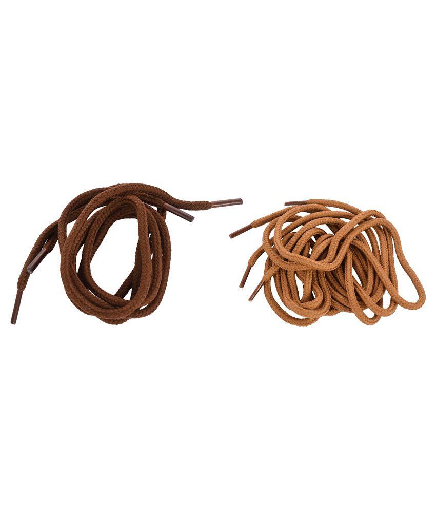 Shoeshine India 2 Pair Round Shoelaces