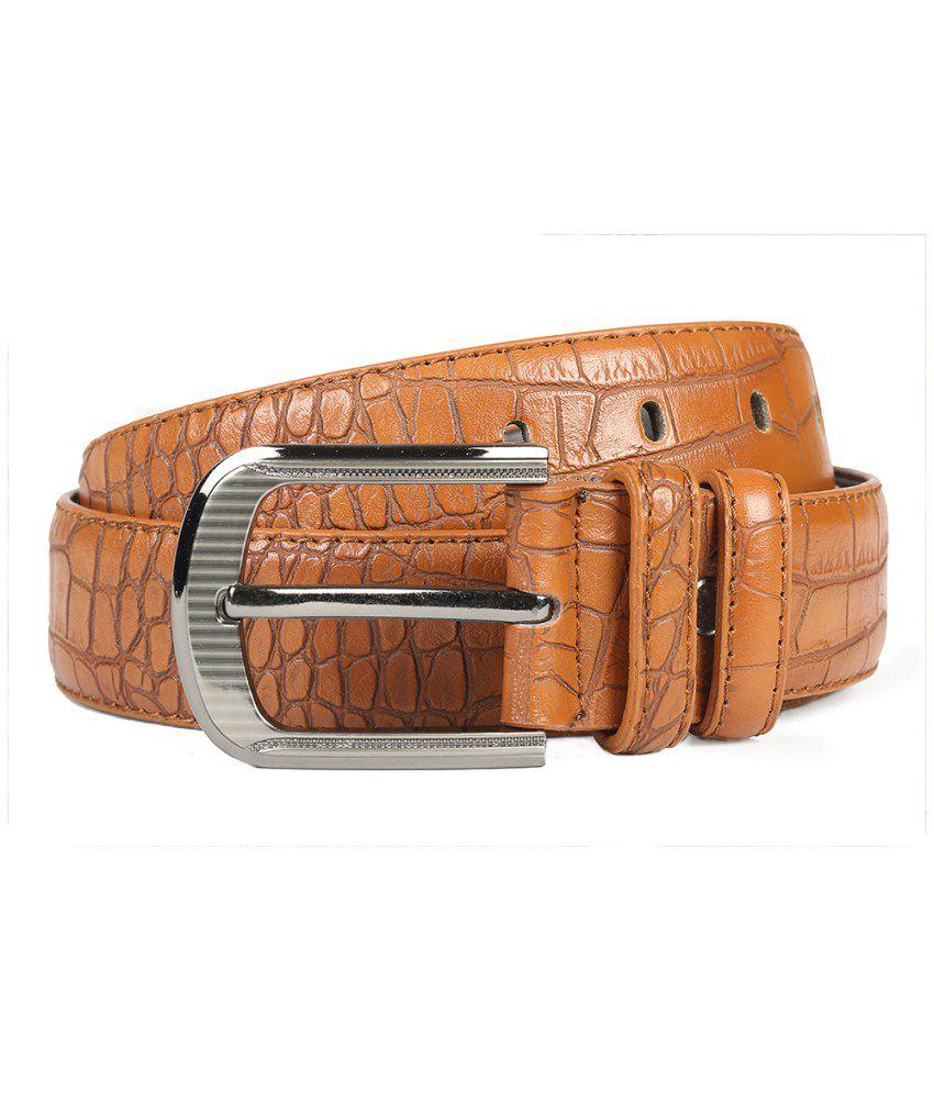 Chisel Tan Leather Belt For Men