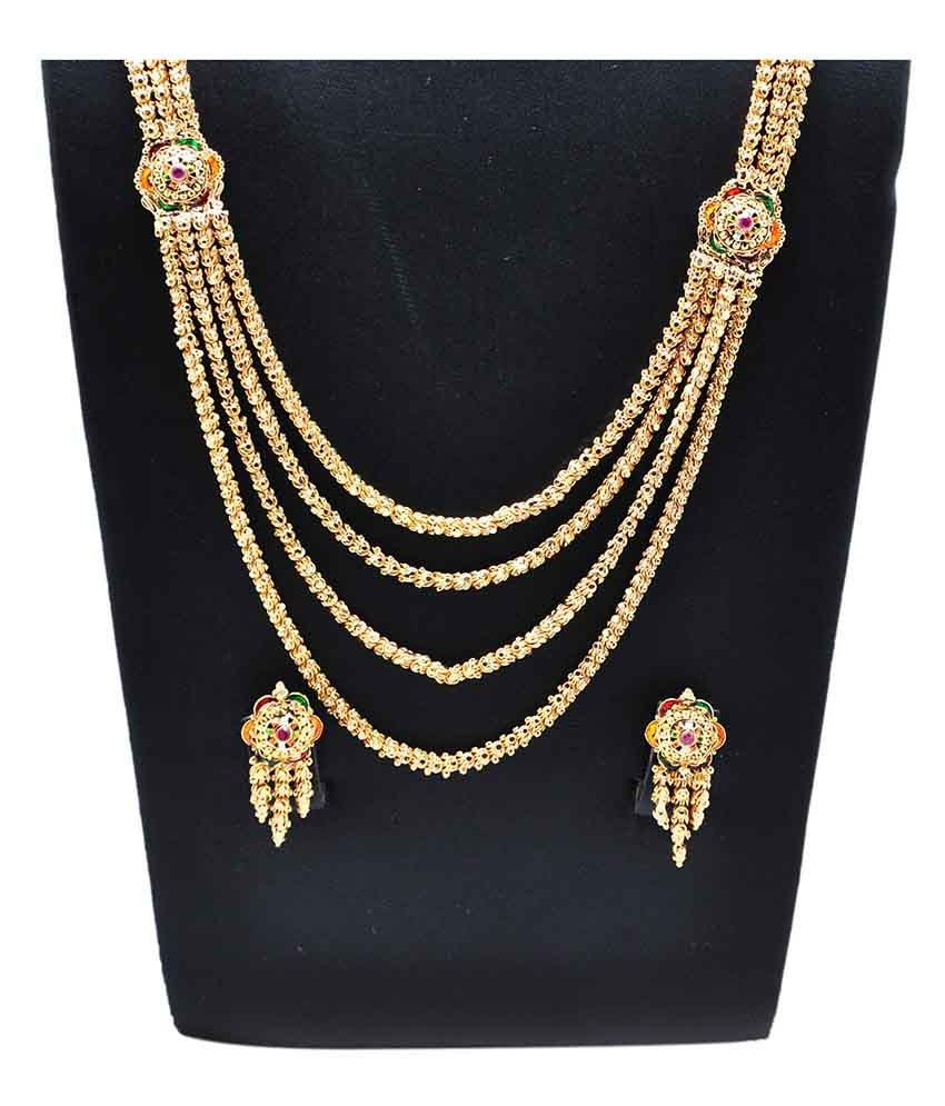 a88e1f9abcd9f Kalyani Covering Golden Necklace Set