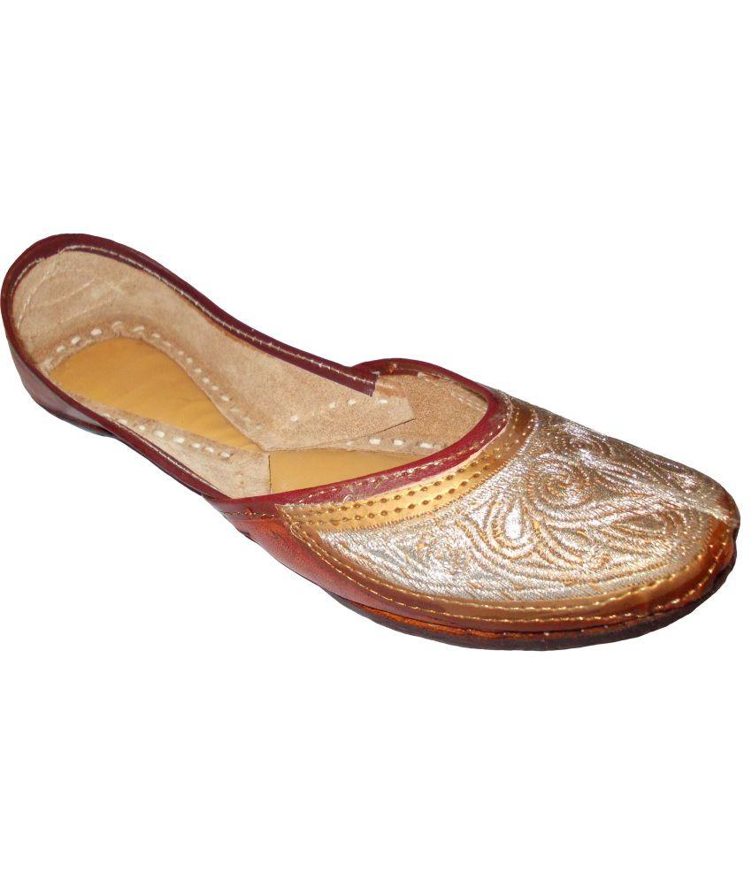 Ndeez Jodhpuri Flat Heel Jutti
