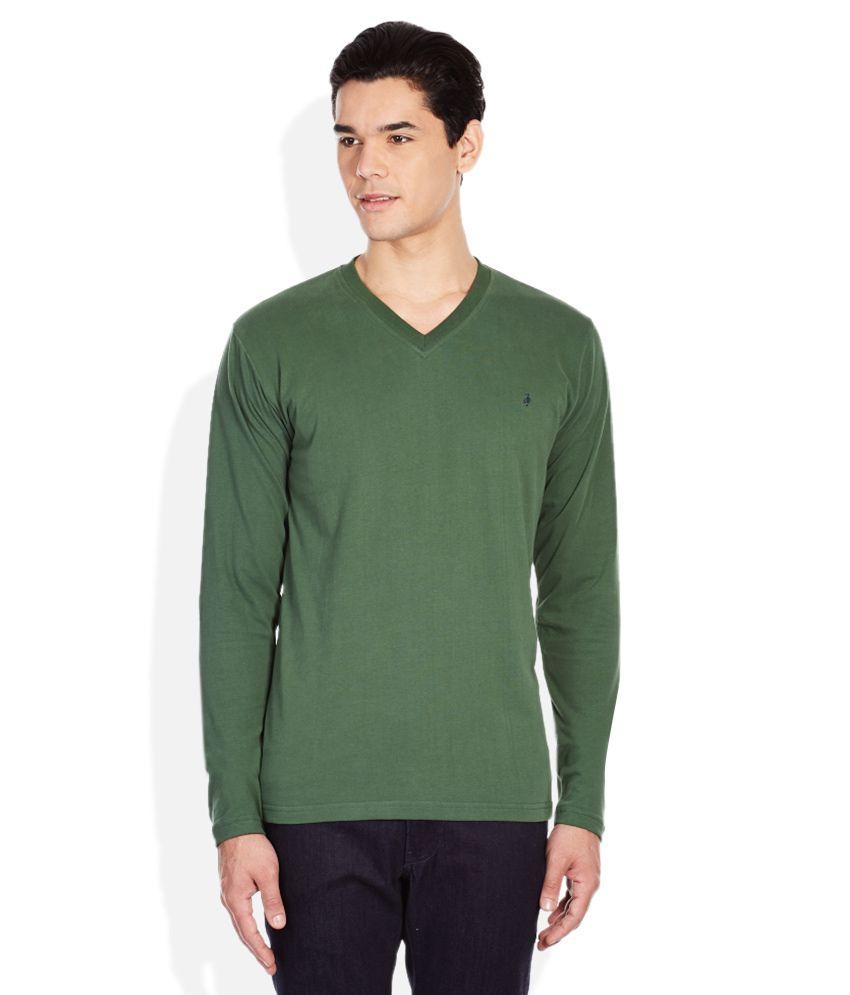 John Players Green T-Shirt