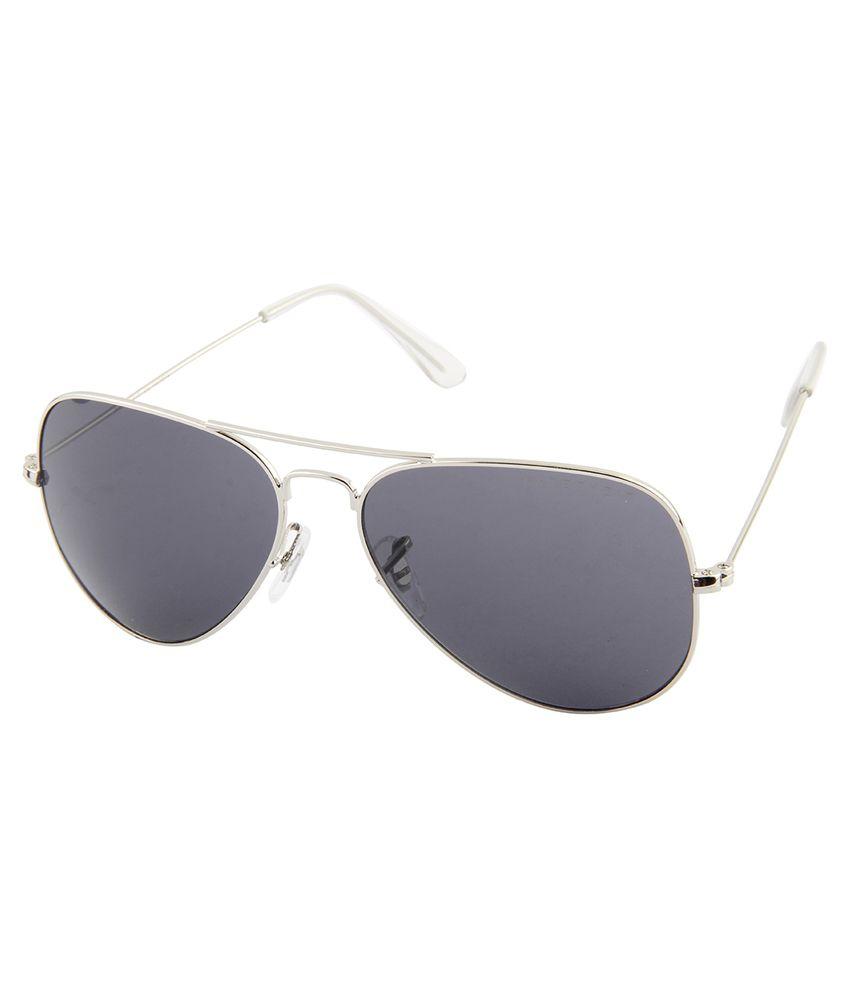 Farenheit SOC-FA-1445-C19-Grey Grey Aviator Sunglasses