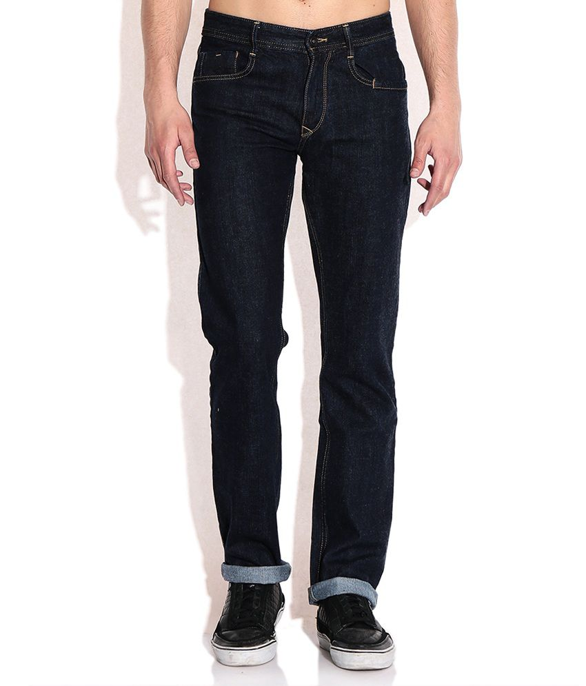 John Players Navy Slim Fit Jeans