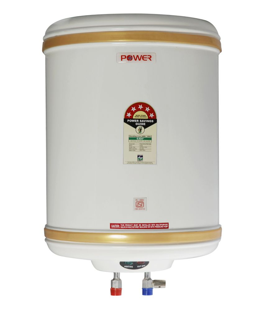 Power 15 Litre Water Heater Geyser 5 Star Isi Price In