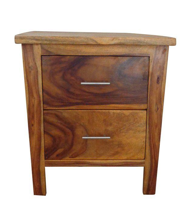 8aab7b9bfb3 Sheesham Wood Bed Side Table with 2 Drawers - Buy Sheesham ...