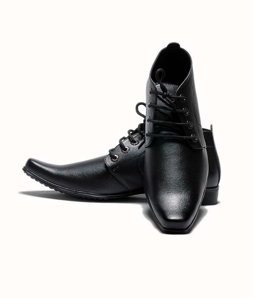 AT Classic Black Formal Shoes By Snapdeal @ Rs.549