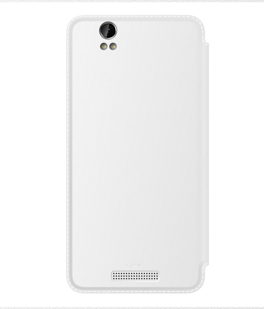 the best attitude 5dff7 f6e59 Lava Flip Cover For Lava Iris X1 Grand- White