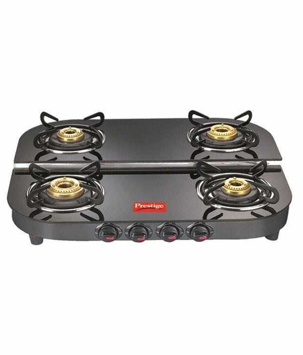 Prestige Clic Steel Kitchen Hood Get Royale Dgt 04 Gl Top Gas Stoves