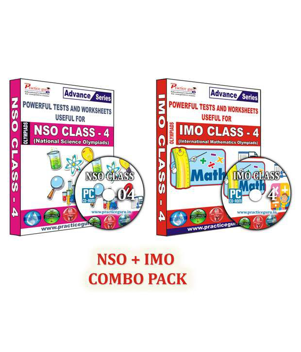 Class 4-Combo Pack (IMO/NSO) English Maths-Topic Wise-40 Tests,Previous  Year Paper,1100+ Question Bank,Science-35,Previous Year Paper,900+  Questions