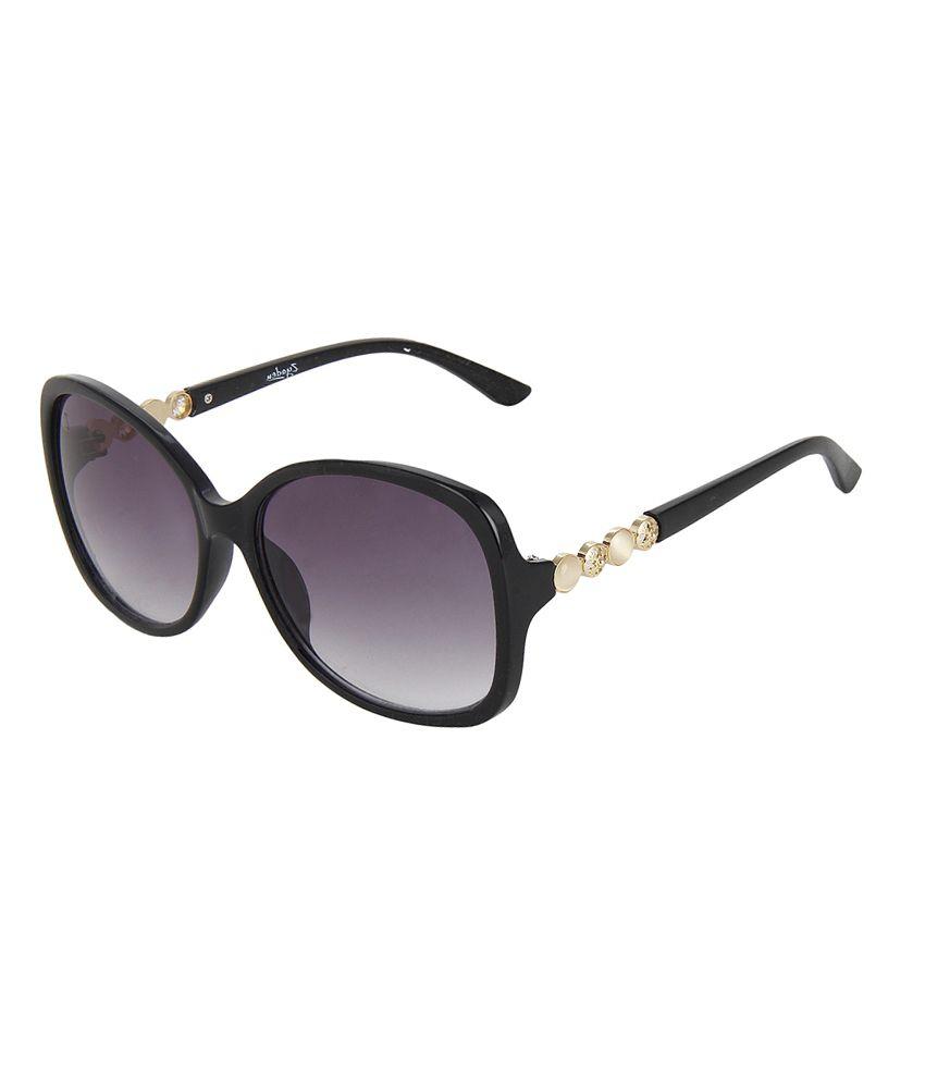Zyaden 1540-bl Black Non Metal Sunglasses For Women