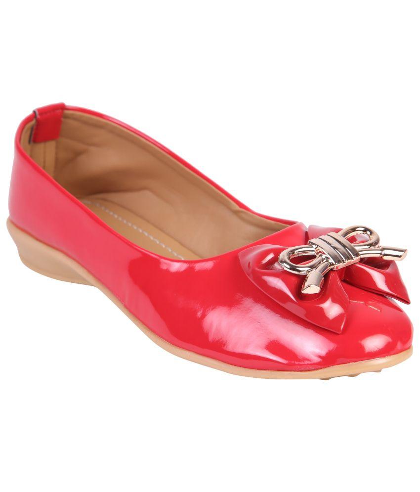 Azores Red Ballerinas