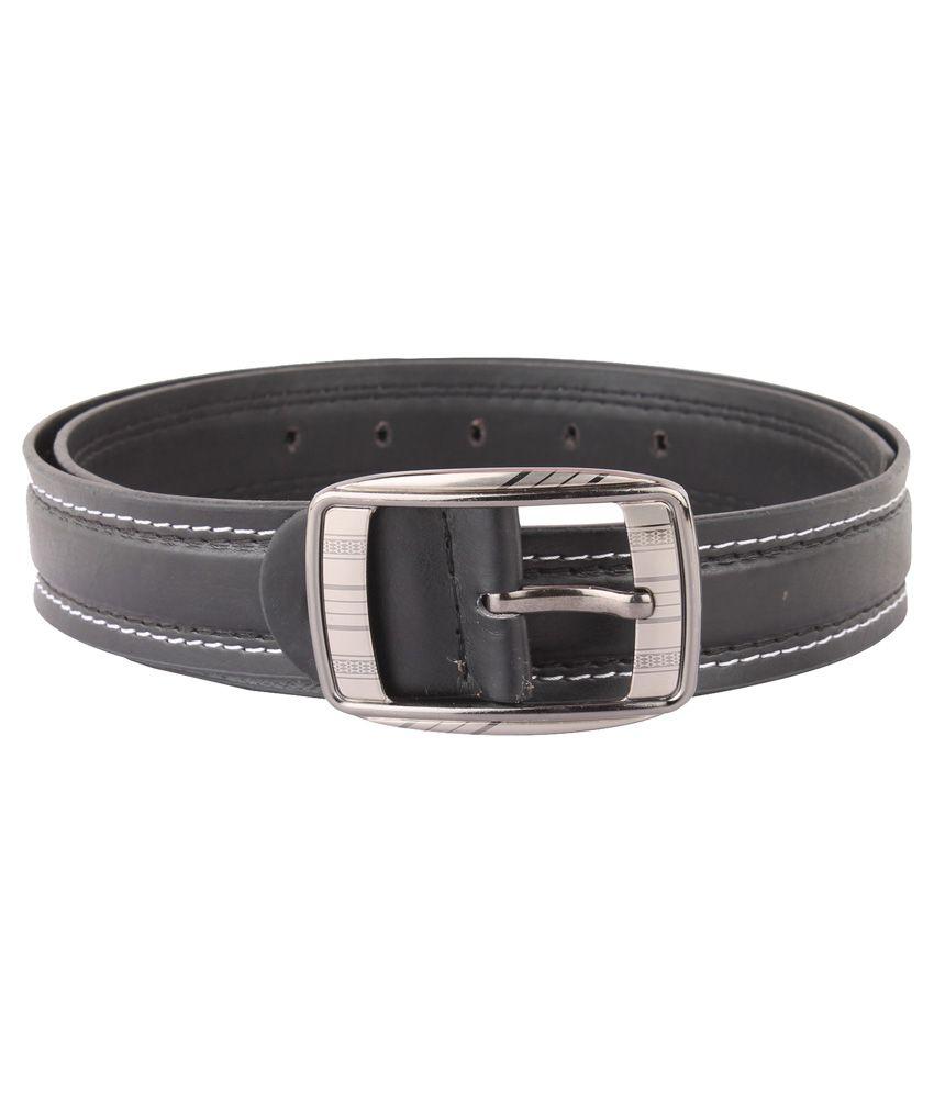 Blute Black Pin Buckle Belt