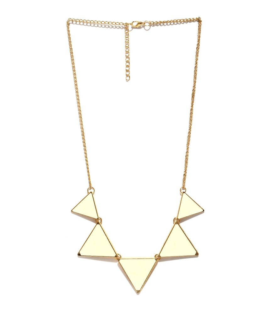 Hi Look White Alloy Necklace