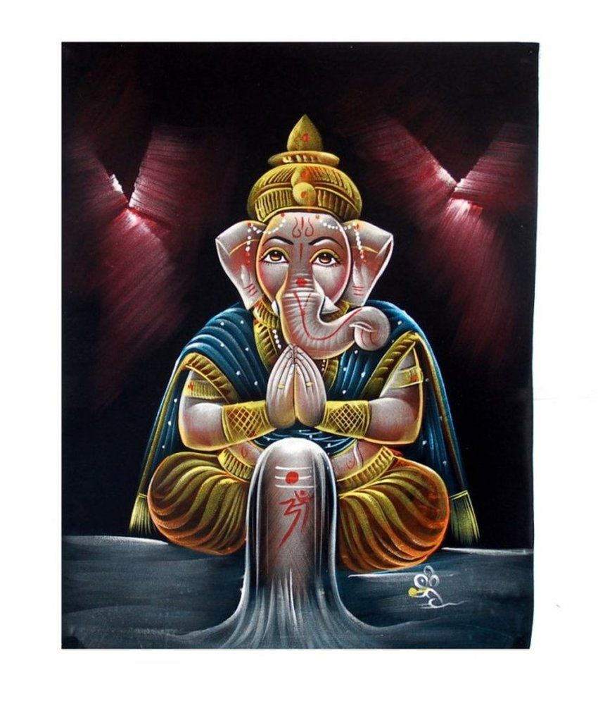 Villcart Ganesh Shivling Painting Best Price In India On 25th February 2018 Dealtuno