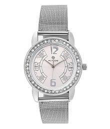 Altedo Silver Analog Watch