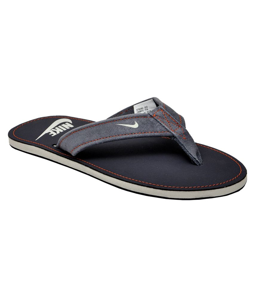 600c86b46585bc Nike Men s Stalley Thong Grid Iron and Light Grey Flipflops and House  Slippers - UK 9 Price in India- Buy Nike Men s Stalley Thong Grid Iron and  Light Grey ...