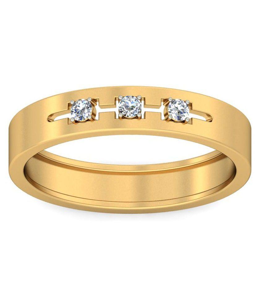 Rang Rasiya 18kt Gold Band Ring