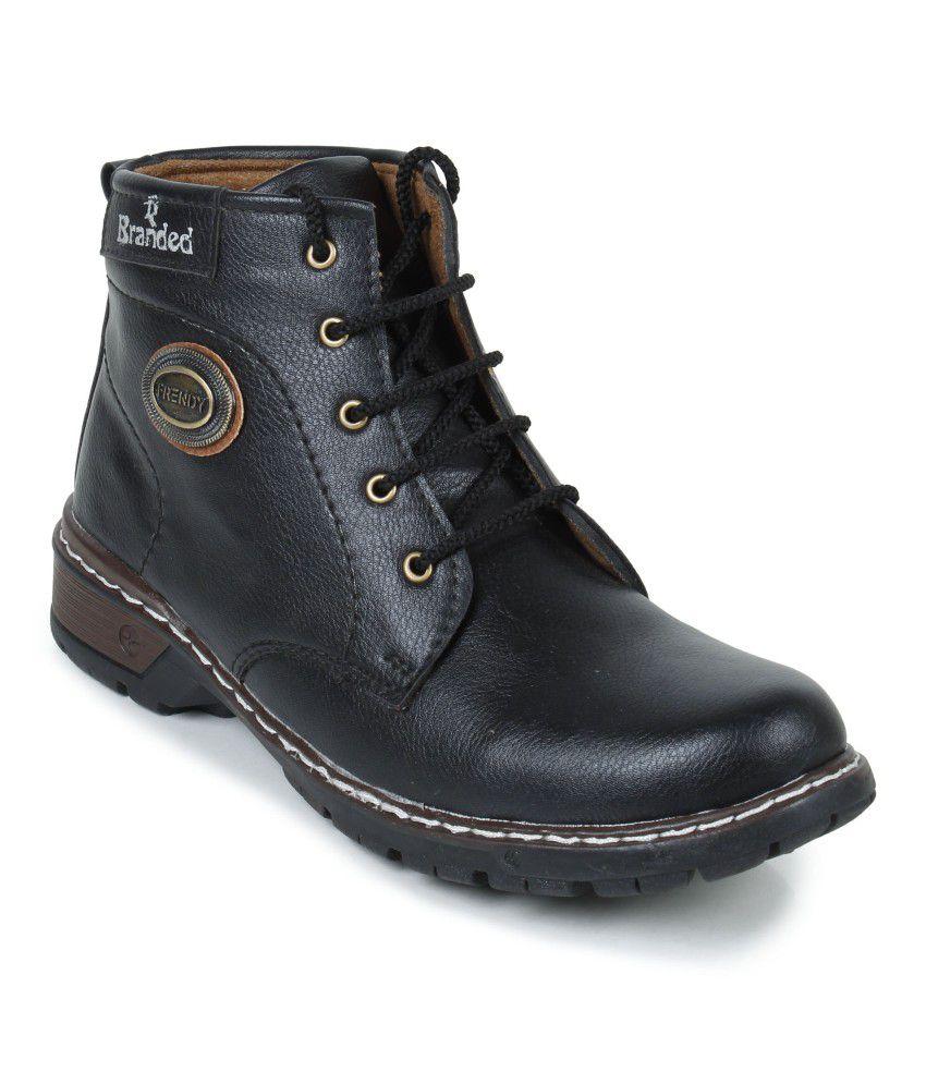 Footrest Black Boots