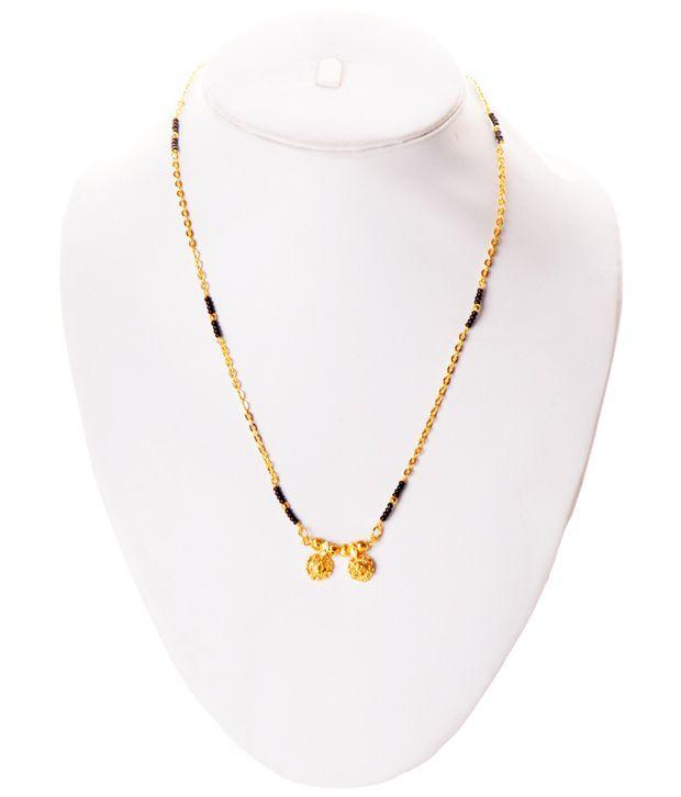 2f2decbcbe8c8 Zakasdeals Black Beads Wati Mangalsutra: Buy Zakasdeals Black Beads ...