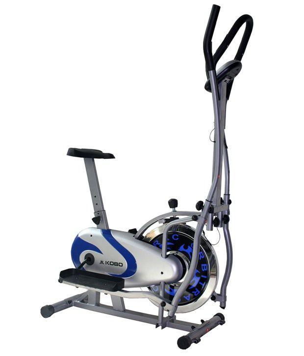 Orbitrac Elliptical Bike Manual: KOBO Multi Orbitrac Elliptical Steel Wheel Dual Action