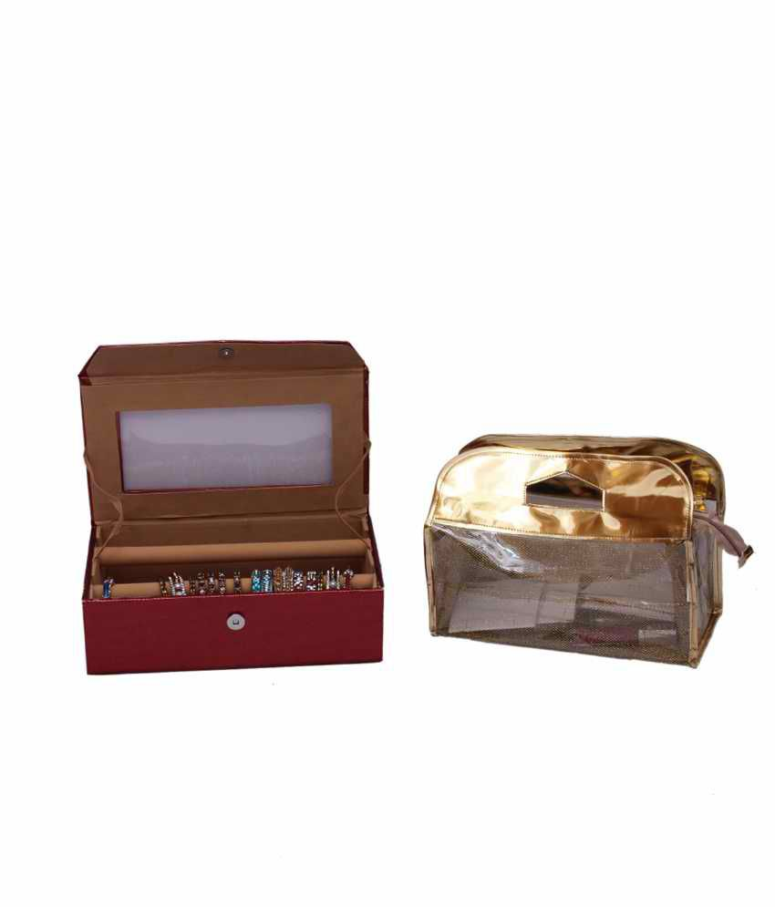 Kuber Industries Bangle Two Roll And Vanity Box