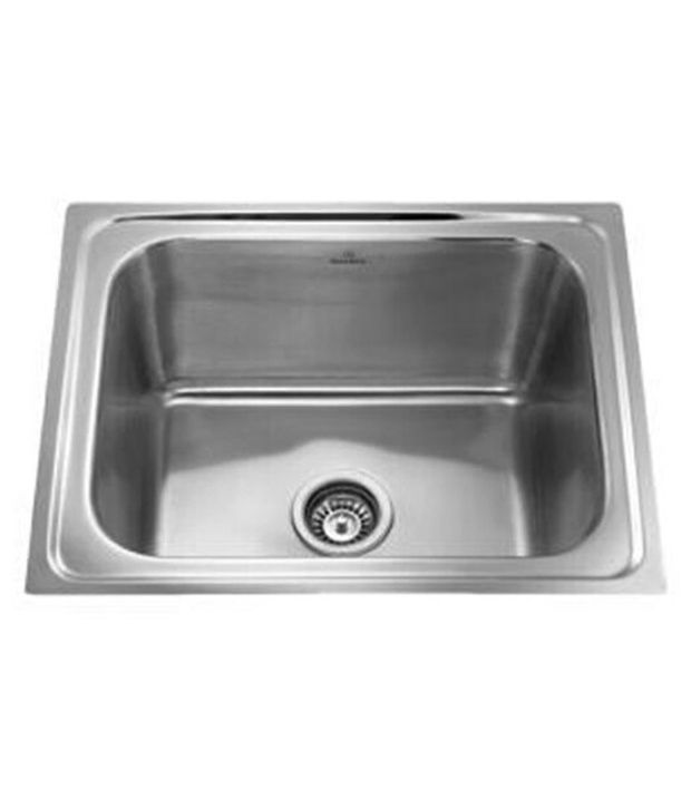 Buy Stainless Steel Kitchen Sink 24*18*8 With Waste