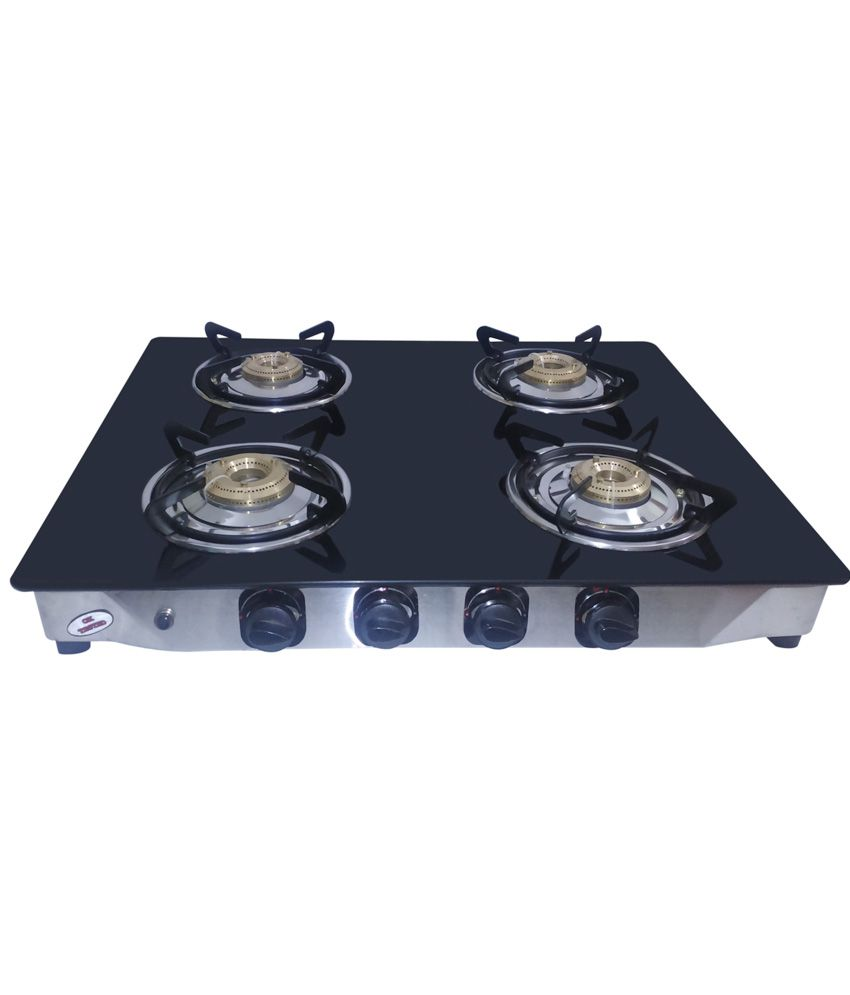 Surya Aksh AKSH 231 4 Burner Auto Ignition Gas Cooktop